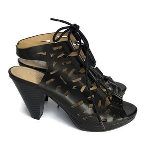 CL by Chinese Laundry Black Whizz Heel Shoes